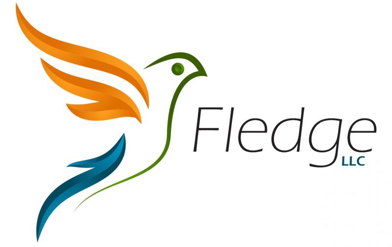 Fledge (big - white)