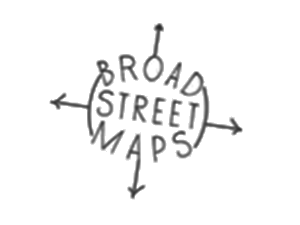 Broad Street Maps 300x225