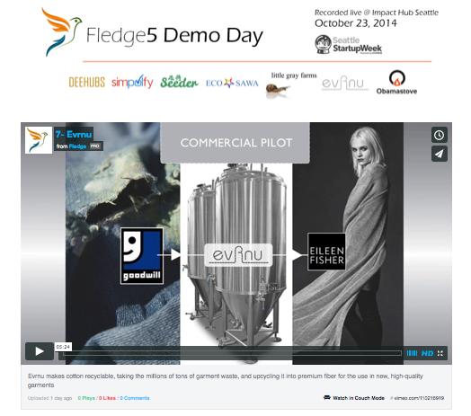 Evrnu Demo Day