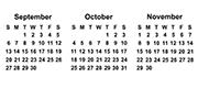 Sep-Nov