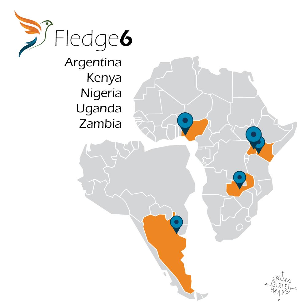 Fledge6 - Argentia, Kenya, Nigeria, Uganda, Zambia