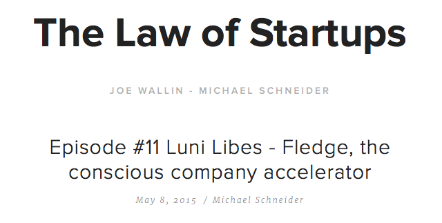 The Law of Startups