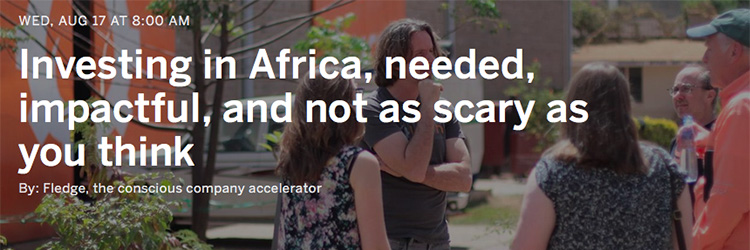 Webinar - Investing in Africa